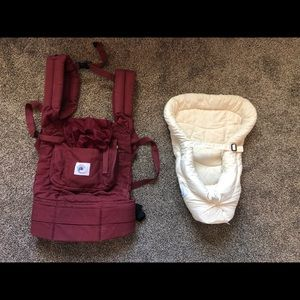 Ergobaby Classic Carrier w/Infant insert